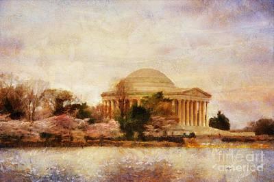 Jefferson Memorial Digital Art