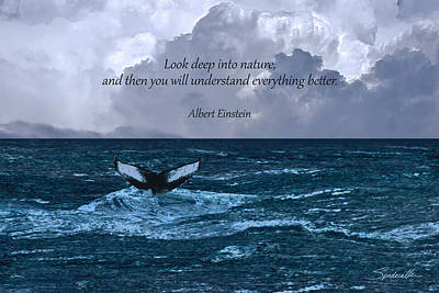 Designs Similar to Look Deep Into Nature Poster