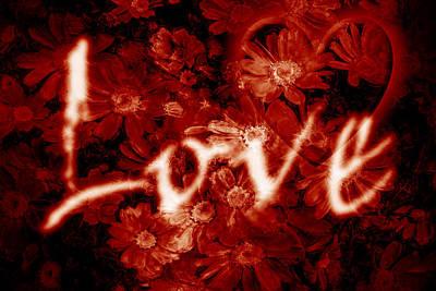 Floral Digital Art Original Artwork