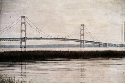 Designs Similar to Mackinac Bridge Grunge