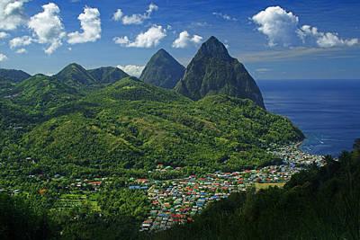Saint Lucia Photographs Original Artwork
