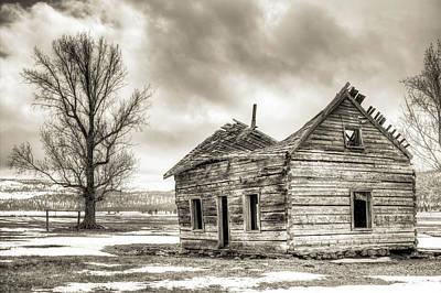 Abandoned Houses Original Artwork