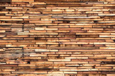 Wood Plank Flooring Prints