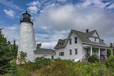 Mid-coast Maine Mixed Media