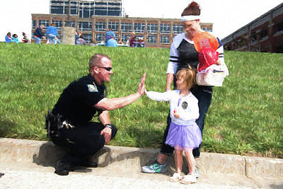 Police Community Relations Photographs Prints