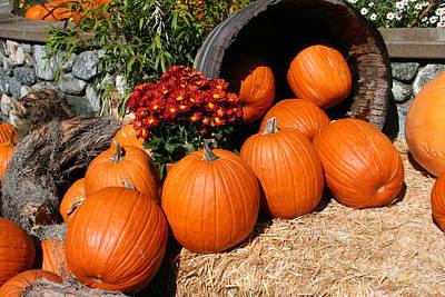 Pumpkin Card Mixed Media