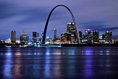 Designs Similar to St Louis Black N Blue