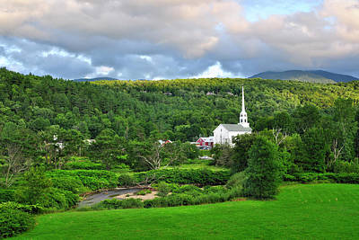 Designs Similar to Stowe Vermont Summer Evening