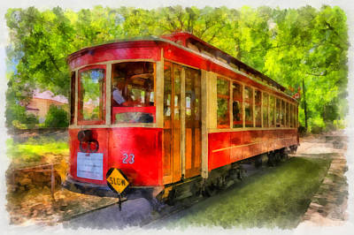 Streetcar Digital Art