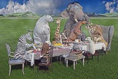 Zebra Cake Art