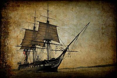 Tall Ship Mixed Media