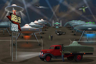 Area 51 Posters