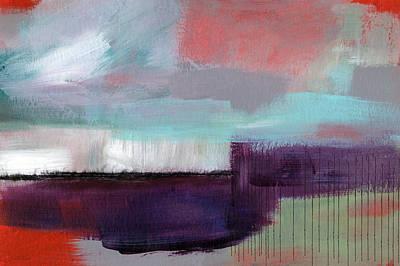 Horizontal Abstract Landscape Prints