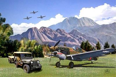 U-2 Paintings Original Artwork