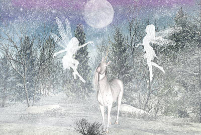 Designs Similar to Winter Fairy Magic by Lisa Roy