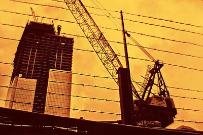 Crane Anf Freedom Tower Prints