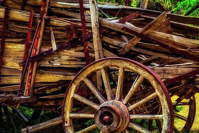 Designs Similar to Worn Western Wagon by Garry Gay