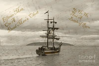 Yo Ho Ho And A Bottle Of Rum Photographs Prints