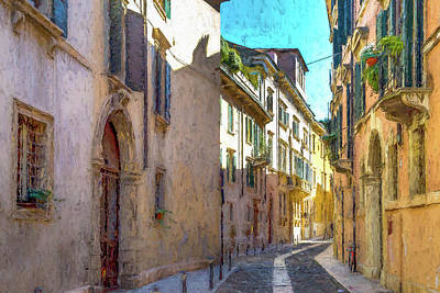 Designs Similar to A Street In Verona