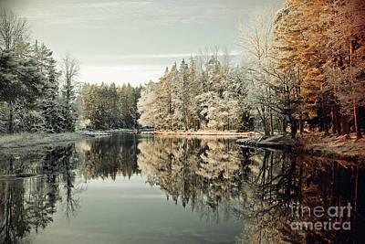 Designs Similar to Calm Lake Environment In Winter