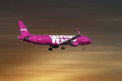 Designs Similar to Wow Air Airbus A321-211