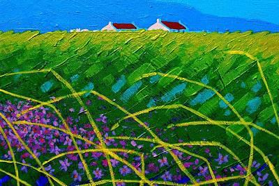 Designs Similar to Blue Hills 3 by John  Nolan