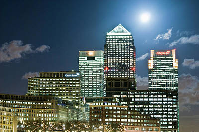 Designs Similar to Canary Wharf At Night