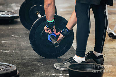 Designs Similar to Changing Weights On Barbell