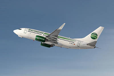 Designs Similar to Germania Boeing 737-76j