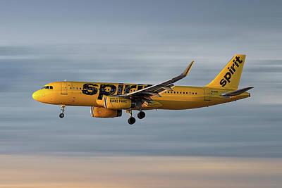 Designs Similar to Spirit Airlines Airbus A320-232