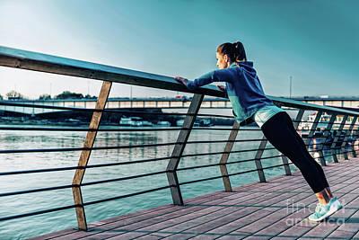 Designs Similar to Woman Exercising Outside