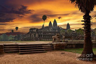 Designs Similar to Angkor Wat At Sunset by Muzhik