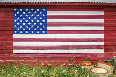 Designs Similar to Barn Side Flag by Todd Klassy