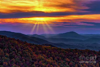 Designs Similar to Blue Ridge Autumn Sunrise