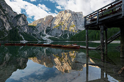 Designs Similar to Boathouse At Lago Di Braies