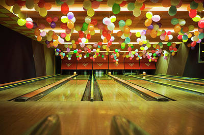 Ten Pin Bowling Art