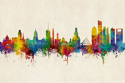 Designs Similar to Buenos Aires Argentina Skyline