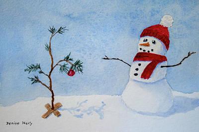 Charlie Brown Christmas Paintings