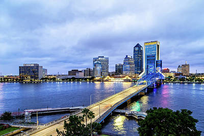 Designs Similar to Downtown Jacksonville Blue Hour