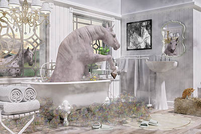Designs Similar to Equine Bubble Bath Beauty Time