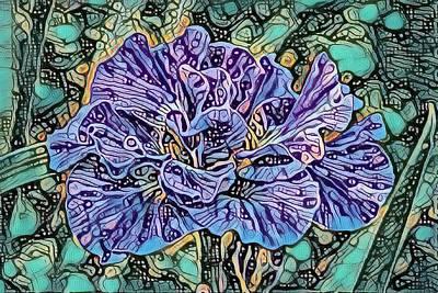 Designs Similar to Iris Abstract by Teresa Wilson