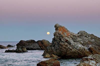 Designs Similar to Moonrise Over Burgess Beach