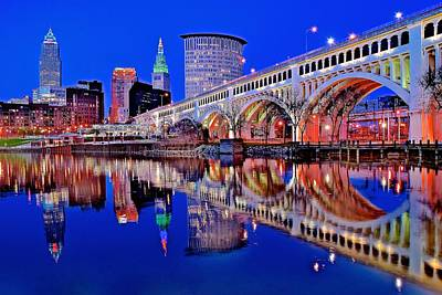 Designs Similar to Neon Along The Cuyahoga