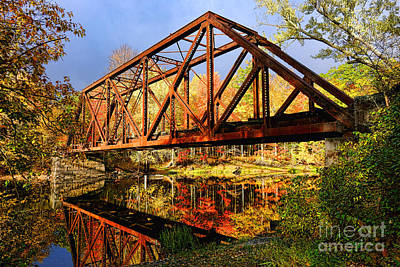 Designs Similar to Old Railroad Bridge In The Fall