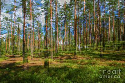 Designs Similar to Pine Land by Veikko Suikkanen