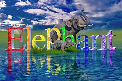 Designs Similar to Precious E Is For Elephant