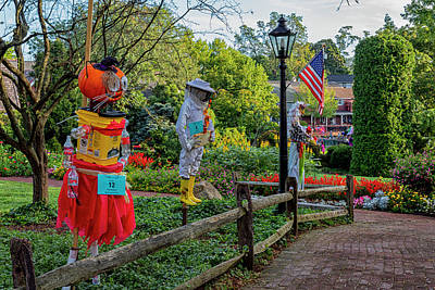 Designs Similar to Scarecrows In Peddlers Village