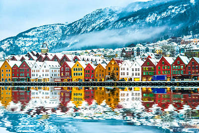 Designs Similar to View On Bruges. Bergen Norway