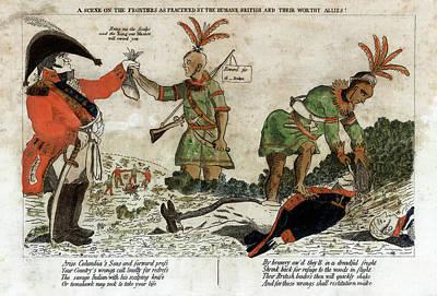 Designs Similar to War Of 1812 Political Cartoon