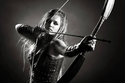 Designs Similar to Woman Archer Aiming Arrow